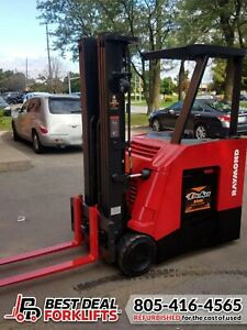 QTY: 22 Refurbished 2014 Raymond Counterbalance Docker Forklifts   LOW HOURS