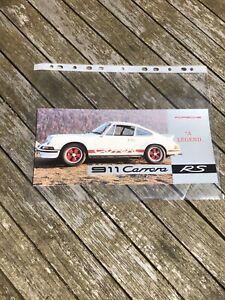 Porsche 964 Carrera RS Uk Sales Brochure ( Uber Rare ! )