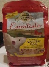2 - Oxbow Essentials Adult Rat Food, 3-Pound Bag. *Read Whole Description*