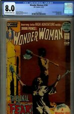 WONDER WOMAN #199- CGC 8.0- HIGRADE J JONES  BONDAGE CVR- GREY TONE- 1972