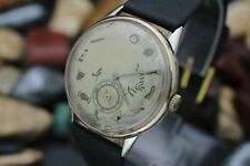 Vintage MOVADO Cal. 75 Masonic Dial Gold Filled Men's Dress Watch
