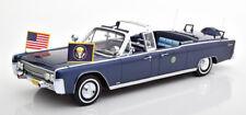 1:18 CMF Lincoln Continental X100 J.F. Kennedy 1961 darkblue-metallic