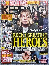 Kerrang! Magazine 1433 Sep 12 Rock Heroes, Kurt Cobain, MCR, Ozzy