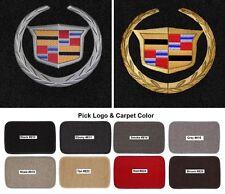 Lloyd Mats Cadillac Crest Classic Loop 4pc Logo Floor Mats (2002-2014)