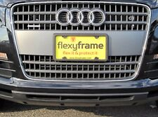 A NASA-like Rubber License Plate Bracket Frame Tag Holder Guard Bumper for AUDI
