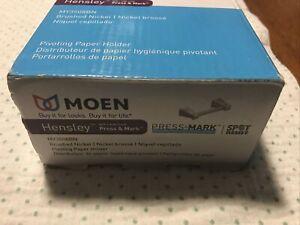 Moen Hensley Pivoting Paper Holder Model: MY3508BN Brushed Nickel