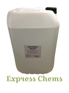 1 x 25L (Litres) Deionised /Demineralised Water Lab Highest Grade Purity Level