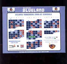 2006-07 Atlanta Thrashers (NHL) Georgia Power team issued magnet schedule
