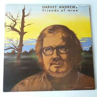 Harvey Andrews - Friends Of Mine Vinyl LP UK 1982 Press VG+/EX