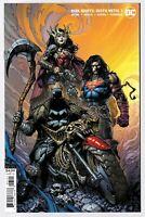 Dark Nights Death Metal #1 (08/2020) DC Comics Finch Batman Variant