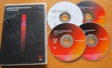 Adobe Creative Suite 4 Design Premium CS4 UPGRADE Windows RETAIL DVD