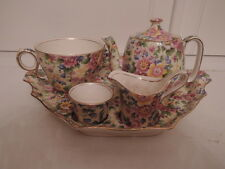 Vintage Royal Winton Chintz Cheadle Breakfast Set Tea for One Teapot
