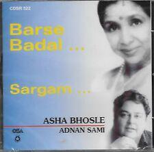 BARSE BADAL & SARGAM (ASHA BHOSLE & ADNAN SAMI)BRAND NEW SONGS CD