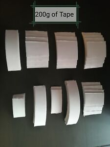 Double Sided Tape Offcuts. Perfect for Craft, Card-making etc. Sold in 200g Lots