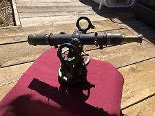 New listing Antique Vintage David White Transit Survey Tool Model No 42578 Rare. Very Heavy