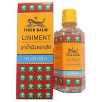 Tiger Balm Liniment Oil Herbal pain relief massage oil 28 ml bottle