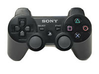 Official OEM Sony Playstation 3 PS3 Sixaxis Dual Shock Controller Black CECHZC2U