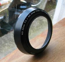 Genuine Minolta MD MC 55 mm A VITE IN PLASTICA Paraluce Usato Per 28 F 2 2.8 3.5