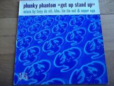 "PHUNKY PHANTOM - GET UP STAND UP 12"" RECORD / VINYL - DISTINCT'IVE -  DISNT 44"