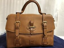 Dooney & Bourke Flap Tab Satchel Florentine Leather