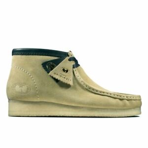 Clarks Originals WU WEAR Collaboration Mens Wallabee Maple Suede Boots - Size 11