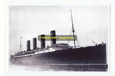 rp6455 - Cunard Liner - Lusitania - photograph 6x4