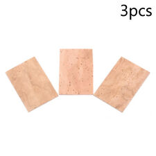 3pcs Saxophone Corks Soprano/Tenor/Alto Neck Tube Cork Saxophone Repair Part MRZ