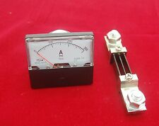 DC 300A Analog Ammeter Panel AMP Current Meter DC 0-300A 60*70MM with Shunt