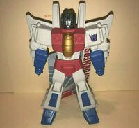 TRANSFORMERS Vinyl STARSCREAM Action Figure DECEPTICON Toy G1 generation 1 desgn