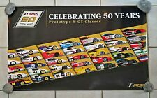 IMSA 50th Celebrating 50 Years of Prototype & GT Classes