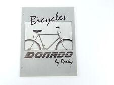 Dorado Bicycle catalog Sherpa Brochure Vintage BIKE 86' Rocky Cycle Suntour NOS