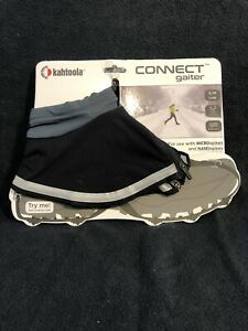 New Size Small - Kahtoola CONNECT Gaiters Low Charcoal Gray
