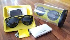 DEFECTIVE Spectacles Snapchat 1st Generation Black Sunglasses 2016 Model
