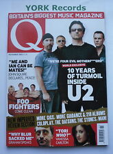 Q MAGAZINE - November 2002 - U2 / Foo Fighters / Nelly / Graham Coxon