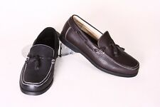 New Men JeAir Casual Loafers Brown Man Made Leather Size 10