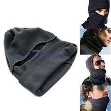 Motorcycle Thermal Fleece Balaclava Neck Winter Ski Full Face Mask Cover Hat Cap