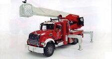 Bruder Toys MACK Granite Fire Engine Water Pump New 02821