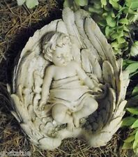 Gostatue latex w plastic backup angel in wings concrete mold plaster mould