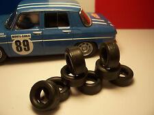 8 pneus pour renault 8 scx 1/32 - uk