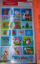NIP CHRISTMAS Santa Claus MOTION Stickers