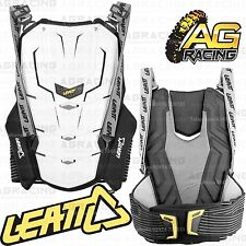 Leatt Adult Adventure Back Protector Back Body Armour Spine White L/XL Motocross