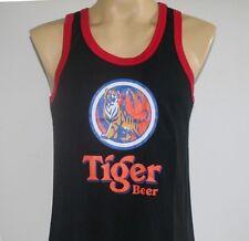 Tiger Beer Women Men Tank Top Vase T-Shirt Black L