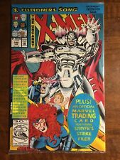 1992 Marvel Comics The Uncanny X-Men #296 Factory Sealed With Trading Card.