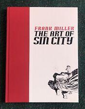 Frank Miller The Art Of Sin City Hardcover 1St Edition 2002 Dark Horse Comics