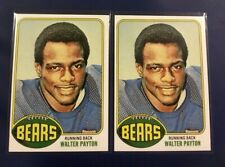 1976 WALTER PAYTON ROOKIE RC #148 Lot 2 Chicago Bears Rp YOU GET 2 !