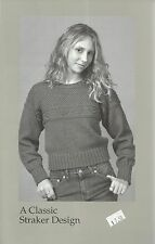 "Gretel Sweater Knitting Instruction Pattern Peggy Straker #876 Women's 32""-42"""