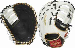 Rawlings Encore First Base Mitt (12 inch) ECFBM-10BW - LHT Left Hand Throw
