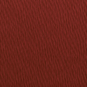 A0260A Brick Red Solid Textured Wrinkle Look Upholstery Fabric By The Yard