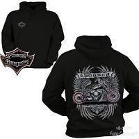 * Hoodie Custom Chopper Biker Classic-Harley-Motiv Bobber *4219
