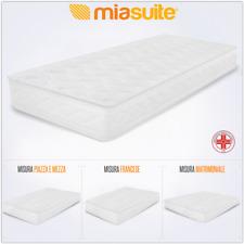 MiaSuite Smart h 16 Materasso Singolo in Water Foam 80x190x16cm - Bianco